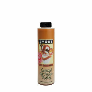 LYONS CARAMEL HOT FUDGE TOPPING