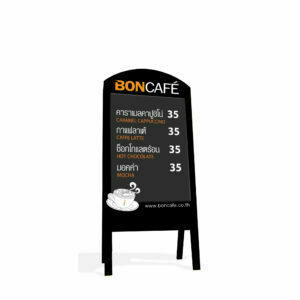 MENU CHALKBOARD WITH STAND