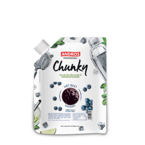 ANDROS FRUIT CHUNKY, BLUEBERRY