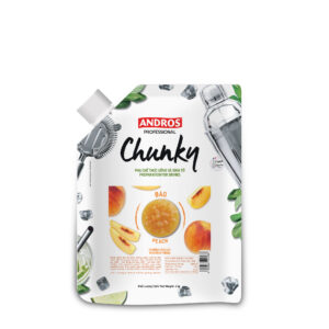 ANDROS FRUIT CHUNKY, PEACH