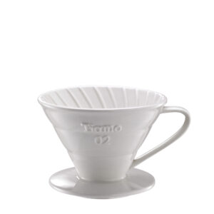 TIAMO COFFEE DRIPPER CERAMIX (WHITE)