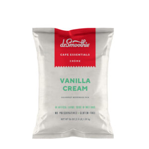 VANILLA CREAM FRAPPE POWDER, CAFE ESSENTIALS