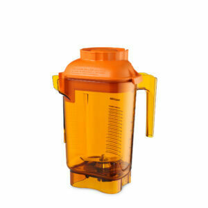 VITAMIX BOWL 1.4 LITER WITH BLADE LID ADVANCE CONTAINER THE QUIET ONE, ORANGE