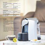 คาพริสต้า ยู เครื่องทำกาแฟระบบแคปซูล, สีขาว
