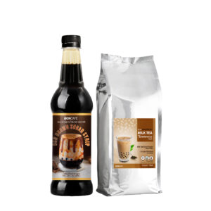 BIG SET : BON BROWN SUGAR + TAIWAN MILK TEA (FOIL)