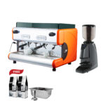 Easy Open a Coffee Shop Promotion LA SAN MARCO 85 ROMA + LA SAN MARCO GRINDER MODEL 97 INSTANT