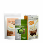 Promotion : New! Set Salted Cheese Powder with Uji Matcha Base & Boncafe Milky Sauce