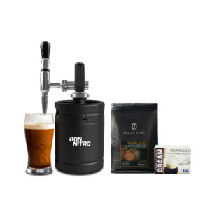 PROMOTION : BON NITRO COLD BREW + GAS CHARGER + CRAZE CAFE BARREL AGED