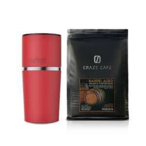 PROMOTION : CAFFLANO KLASSIC, RED + CRAZE CAFE BARREL AGED