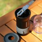 Cafflano Krinder ตัวอุปกรณ์บดกาแฟแบบพกพา (สีดำ)