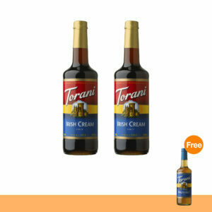 Promotion : TORANI IRISH CREAM SYRUP+  TORANI RASPBERRY SYRUP