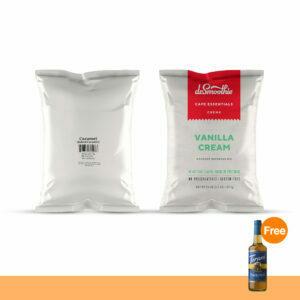 PROMOTION : CAFE ESSENTIALS CARAMEL FRAPPE POWDER + CAFE ESSENTIALS VANILLA CREAM FRAPPE POWDER