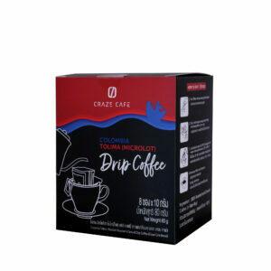 CRAZE CAFE COLOMBIA (MICROLOT) TOLIMA DRIP COFFEE