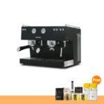 โปรโมชั่น : เครื่องทำกาแฟ แอสคาโซ่ ทรีโอ 2 หัวชง, สีดำ