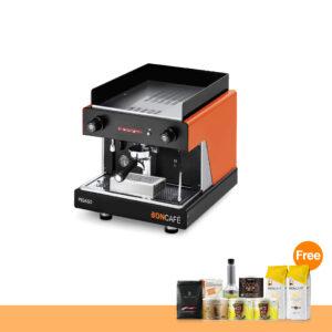 โปรโมชั่น : เครื่องทำกาแฟ บอนกาแฟ ปีกาโซ่ 1 หัว