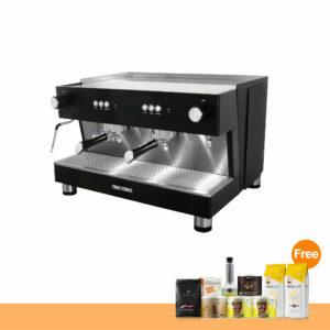 โปรโมชั่น : เครื่องทำกาแฟ แอสคาโซ่ สตีล บาร์, 2-หัวชง