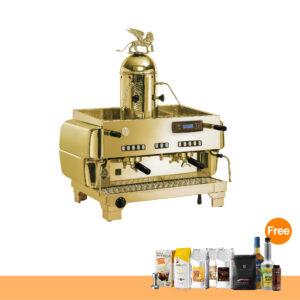 โปรโมชั่น : เครื่องทำกาแฟ ลาซานมาร์โก้ ท็อป 80 พรีซีโอซ่า, 2 หัวชง