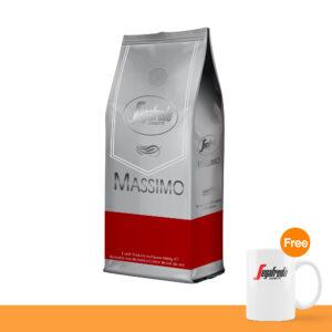 โปรโมชั่น : เมล็ดกาแฟคั่ว เซกาเฟรโด, แมสซิโม่ (ชนิดเม็ด)